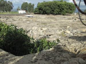 The ruins of Migdal