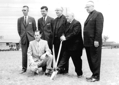 July 17, 1960 Sod Turning for St. Francis of Assisi Church