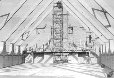 Inside View of Roof Frame